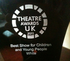 White Wins at Theatre Awards UK